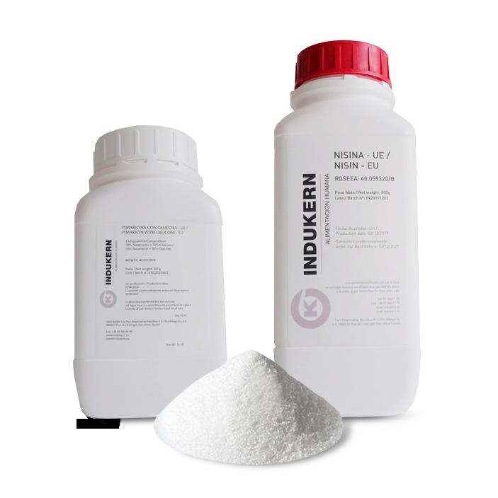 Producto Natamicina/pimaricina y la nisina de Indurken
